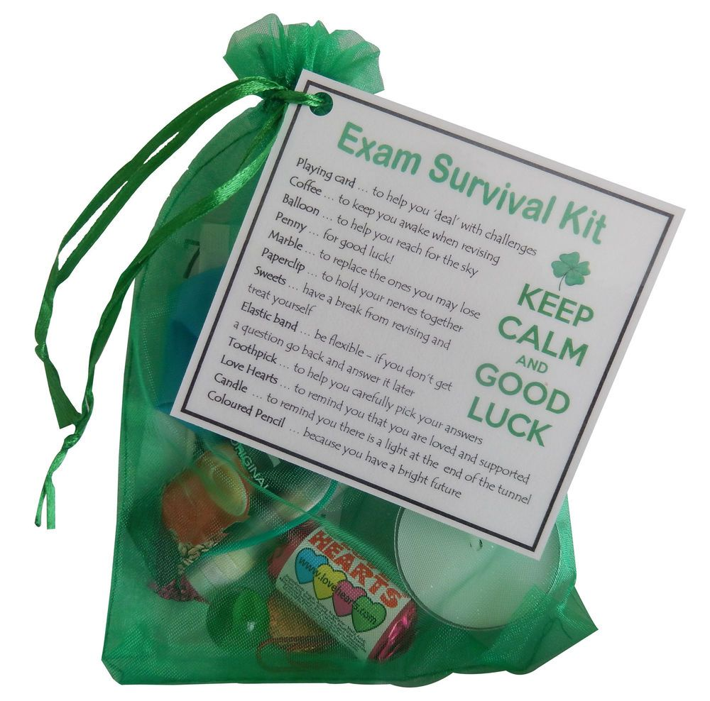 Details about exam survival kit gift suitable for