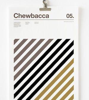 El diseñador Nick Barcklay, conocido por su estilo minimalista al crear carteles, está de regreso y en esta ocasión ha presentado una serie de imágenes alusivas a los personajes de Star Wars, pero sólo ha usado tres colores como máximo.