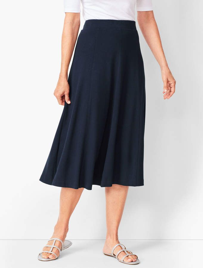 04c8ba38f3 Supersoft Ponte Midi Skirt in 2019 | Products | Midi skirt, Mid ...