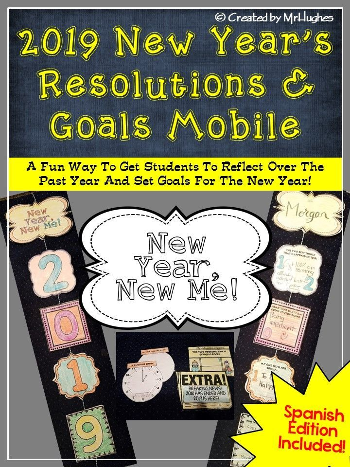 New Years 2020 Resolutions and Goals Mobile (With images