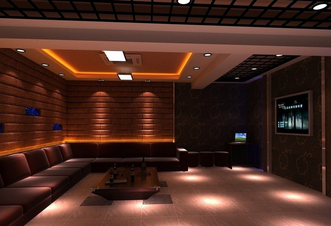 Learn the truth about karaoke room design in the next 60 for Living room karaoke