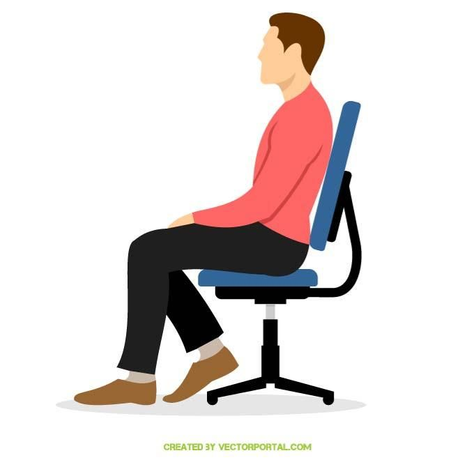 Man Sitting In A Chair Boho Chair Most Comfortable Office Chair Comfy Office Chair