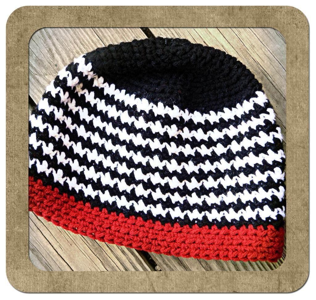 houndstooth crochet blanket pattern - Google Search | Baby hat ...