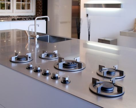 Image Result For Gas Burners In Concrete Countertops European