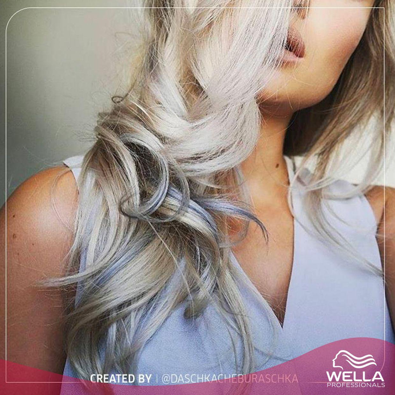 نحن معجبون جدا باطلالة Bronde Luxe الثلجية هذه مع القليل من الفضي من ابتكار Daschkacheburaschka على انستغرام We Can Hair Looks Hair Dos Long Hair Styles