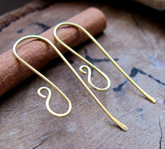 10 Creative Earring Wire Designs to Make | Drahtschmuck ...