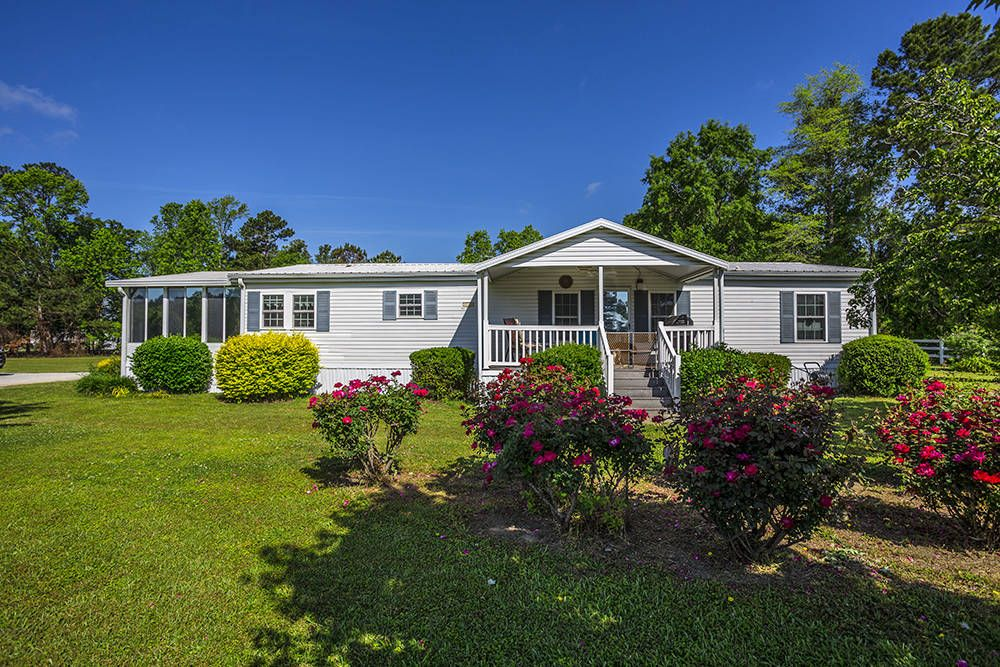 Horse Property For Sale In Horry County South Carolina Two Homes Situated On Two Parcels 2410 And 2418 Large Backyard House In The Woods Propane Fireplace