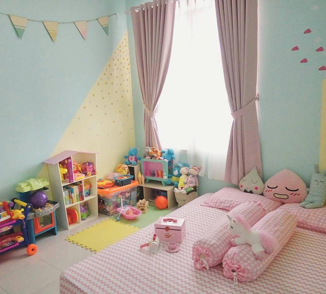 Ide Dekorasi Dinding Kamar Anak Perempuan Cewek | Dekorasi ...