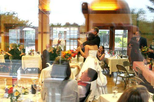 Oregon Coast Wedding Venues Cannon Beach Community Hall Reception Shot