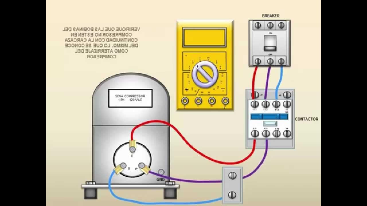 Verificacion Electrica De Compresores En Refrigeracion Y Climatizacion Aire Acondicionado Refrigeracion Y Aire Acondicionado Proyectos Eléctricos