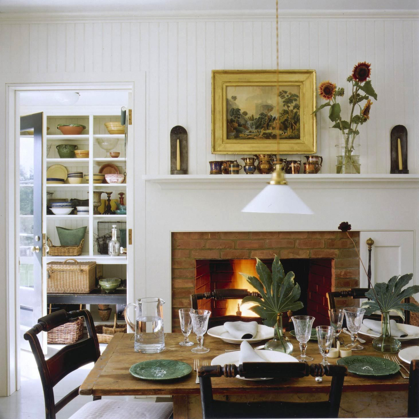 Casual Dining Room Buffet Decorating Ideas: Pin By Joely Hodgson On Fireplaces