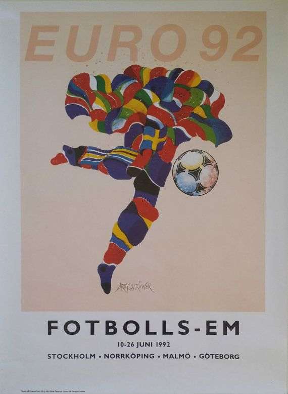 1992 Uefa European Football Championship In By Outofcopenhagen European Football Uefa European Football Championship Football