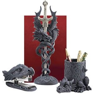Dragon Desk Set I Have This One