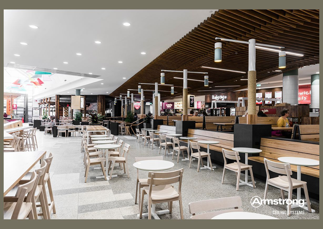 Bayside shopping centre food court food court design