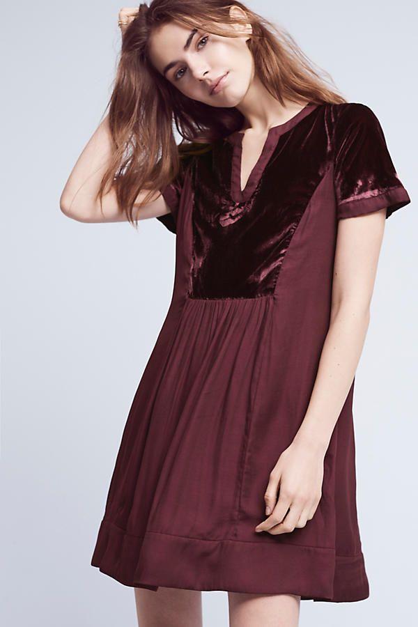 6d18c608a54 Velvet Tunic Dress | I Would Wear That | Velvet shorts, Dresses, Tunic