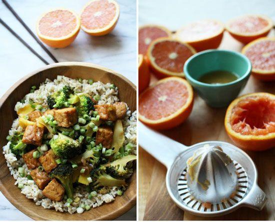 Orange Glazed Tempeh Stir Fry | Flourishing Foodie-sub out tempeh?