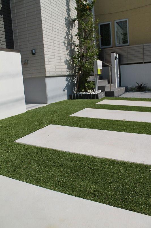Garden おしゃれまとめの人気アイデア Pinterest Santosh エクステリア オープン外構 芝庭