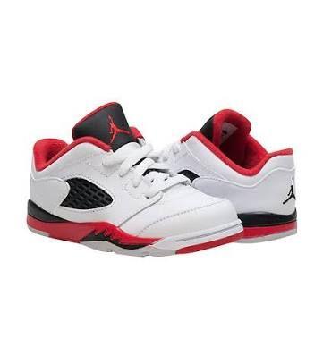 Jordan 5 low white fire red 314340-101  d8c41e6e9