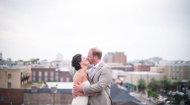 Urban Charleston Elopement with Molly Joseph Photography by Borrowed & Blue  ##MoJo #CharlestonWeddingPhotography #CharlestonWedding #WeddingPhotographer #CouplesPortraits #DestinationWedding