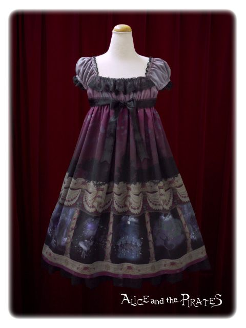 20045560d81ac9 Alice and the Pirates Swan lake~Ephemeral tears~Short sleeve jumper skirt