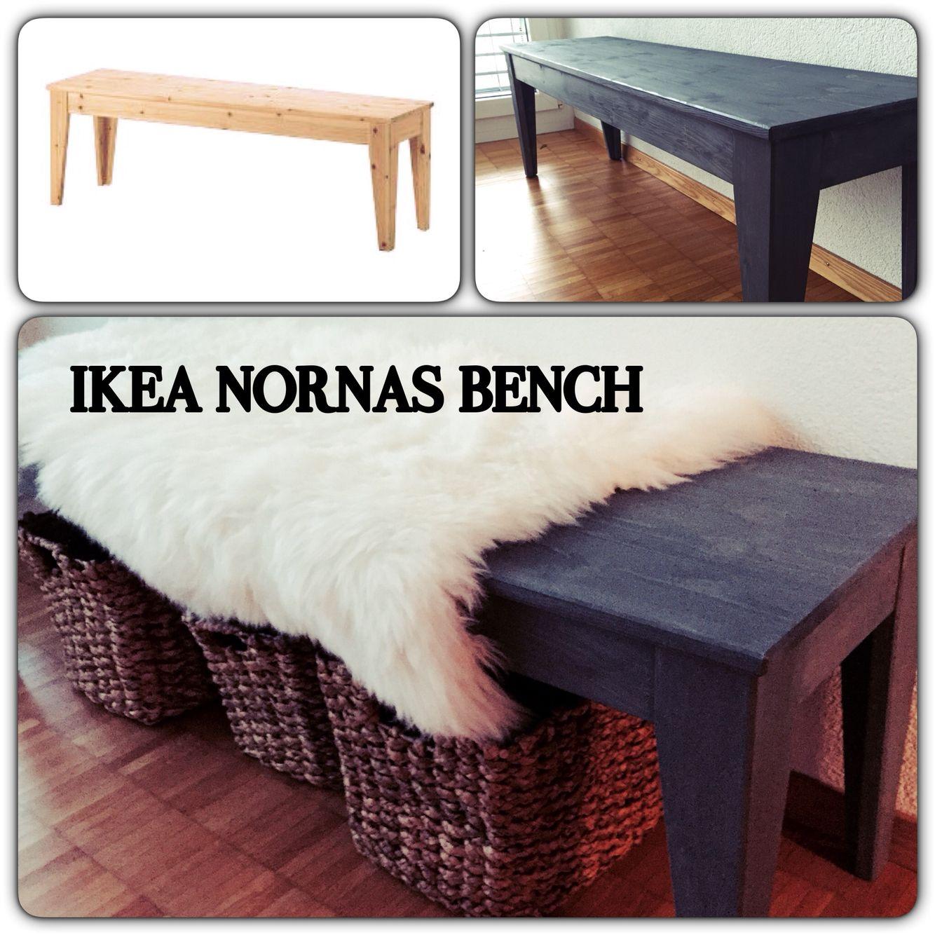 Ikea Hack Entryway Bench: Ikea Nornas Bench Ikea Hack