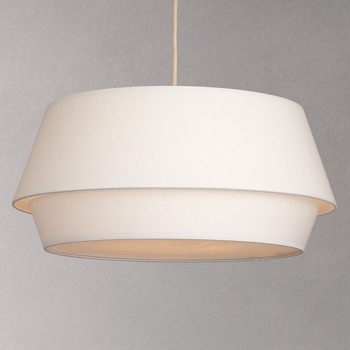 Buy house by john lewis lisbeth easy to fit shade ceiling light white
