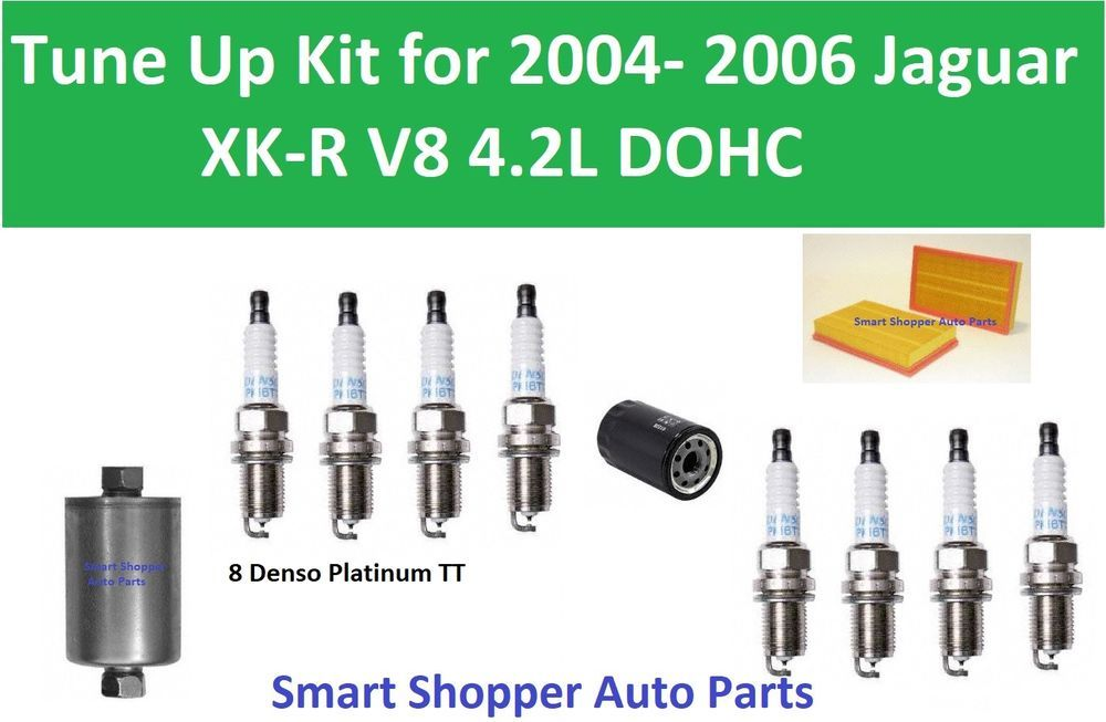 Oil Filter Air Fuel Filter Spark Plug To Tune Up For 2004 2006 Jaguar Xk R V8 Oil Filter Jaguar Xk Spark Plug