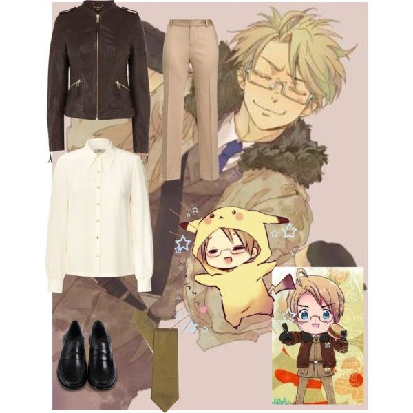 """""""Hetalia America Casual Cosplay"""" by just-your-typical-girl01 on Polyvore"""