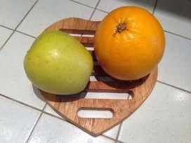 Mele deliziose all'arancia