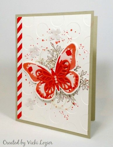 Stampin Up Mary Fish Demonstrator Blog Bold Butterfly Framelits Dies