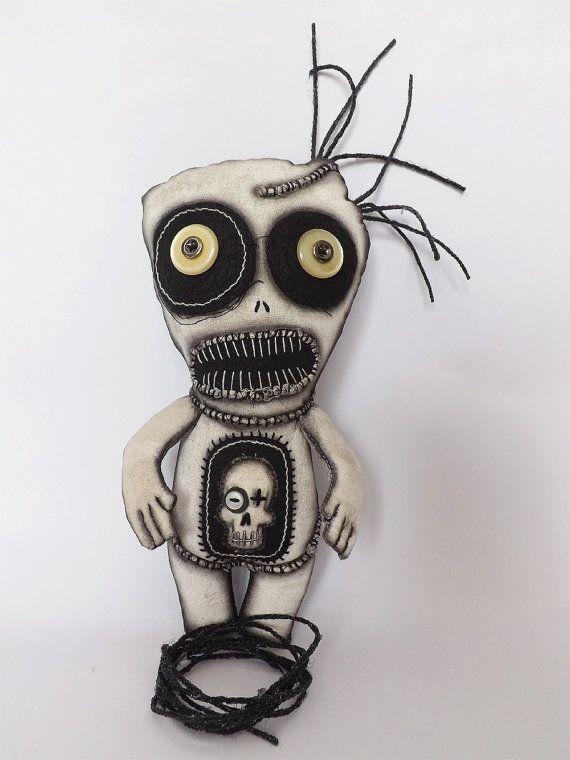 Voodoo Doll Horror Doll Goth Doll Gothic Horror Scary Doll ...