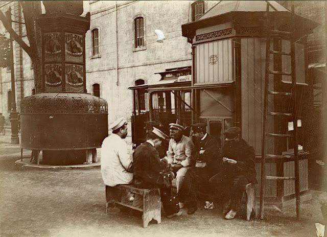 Rambla de Sta. Monica 1907-1908. Afb.f.Ballell [LA BARCELONA D'ABANS, D'AVUI I DE SEMPRE...]