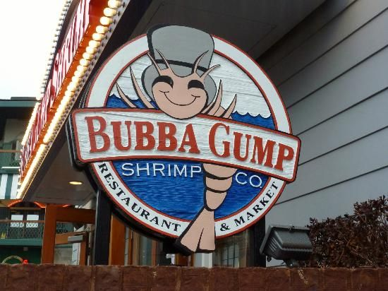 Bubba Gump Shrimp Co., Gatlinburg, TN. LOVE IT HERE! Watermelon Lemonade is the BEST!