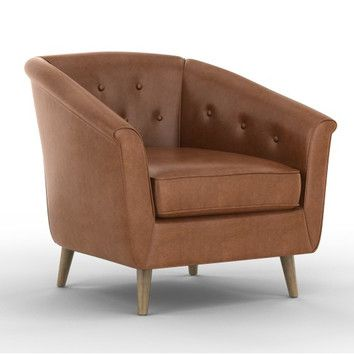 DwellStudio Turner Leather Chair