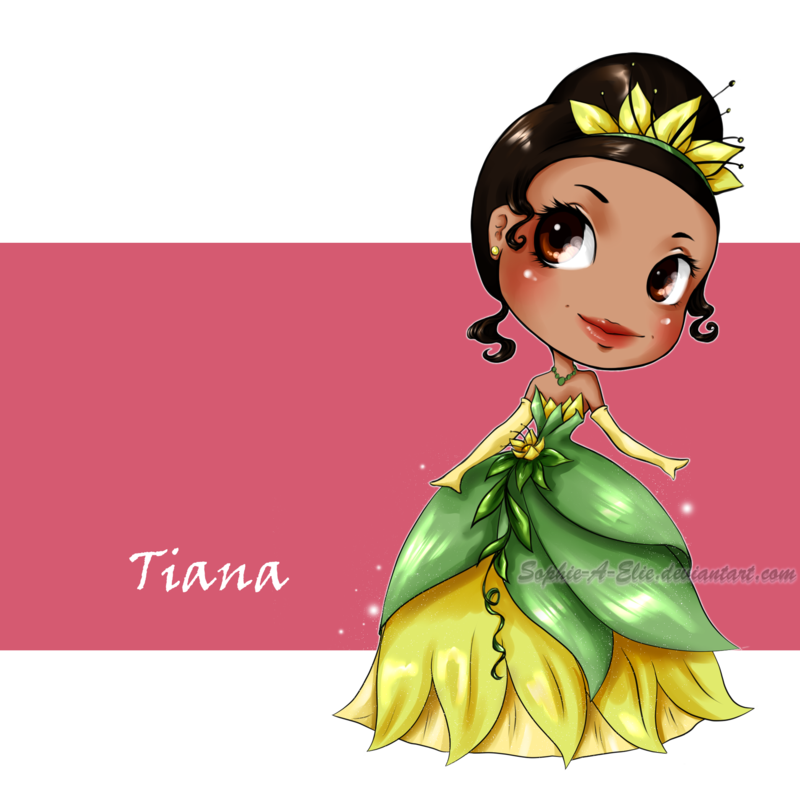 Tiana by Sophie-A-Elie.deviantart.com on @deviantART