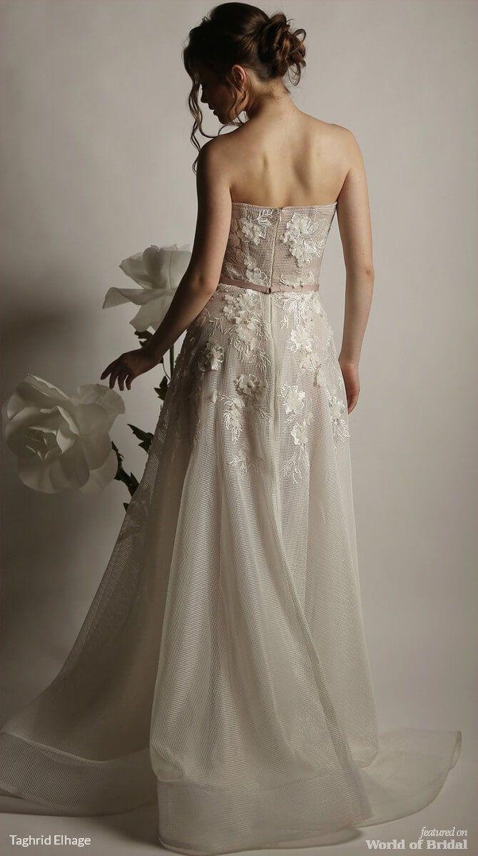 Taghrid elhage spring wedding dresses