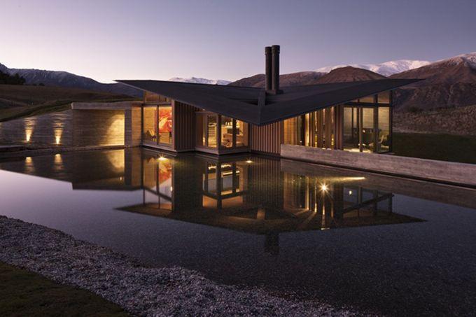 Lake Wakatipu House Queenstown New Zealand Architecture