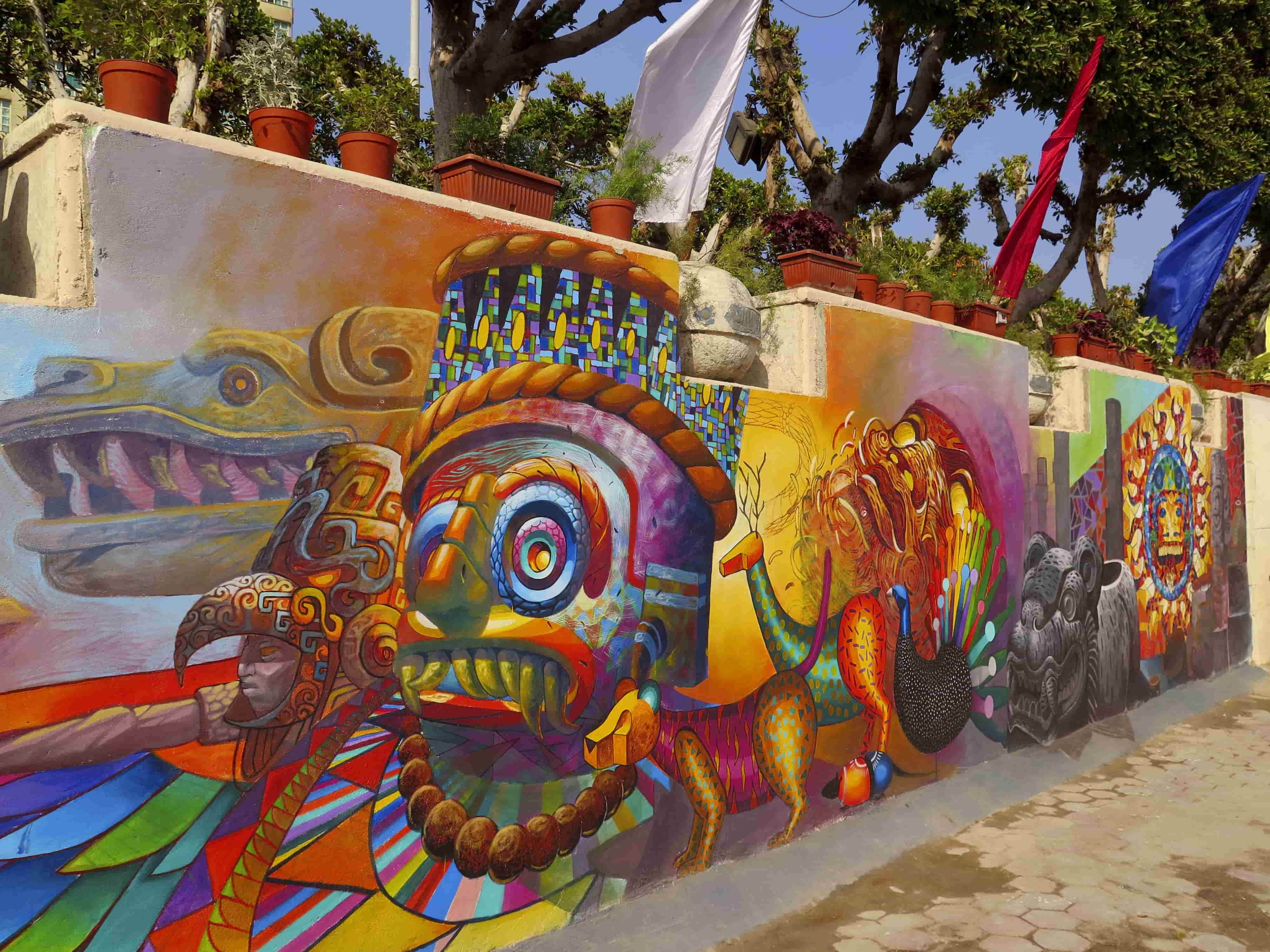 Cix Y Spaik Dos Grafiteros Mexicanos Que Unen Su Arte En