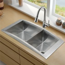 Vigo Platinum Collection Top Mount Stainless Steel Kitchen Sink