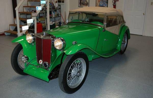 1949 MG TC $32,500 Jacksonville, FL #ForSale #Craigslist ...