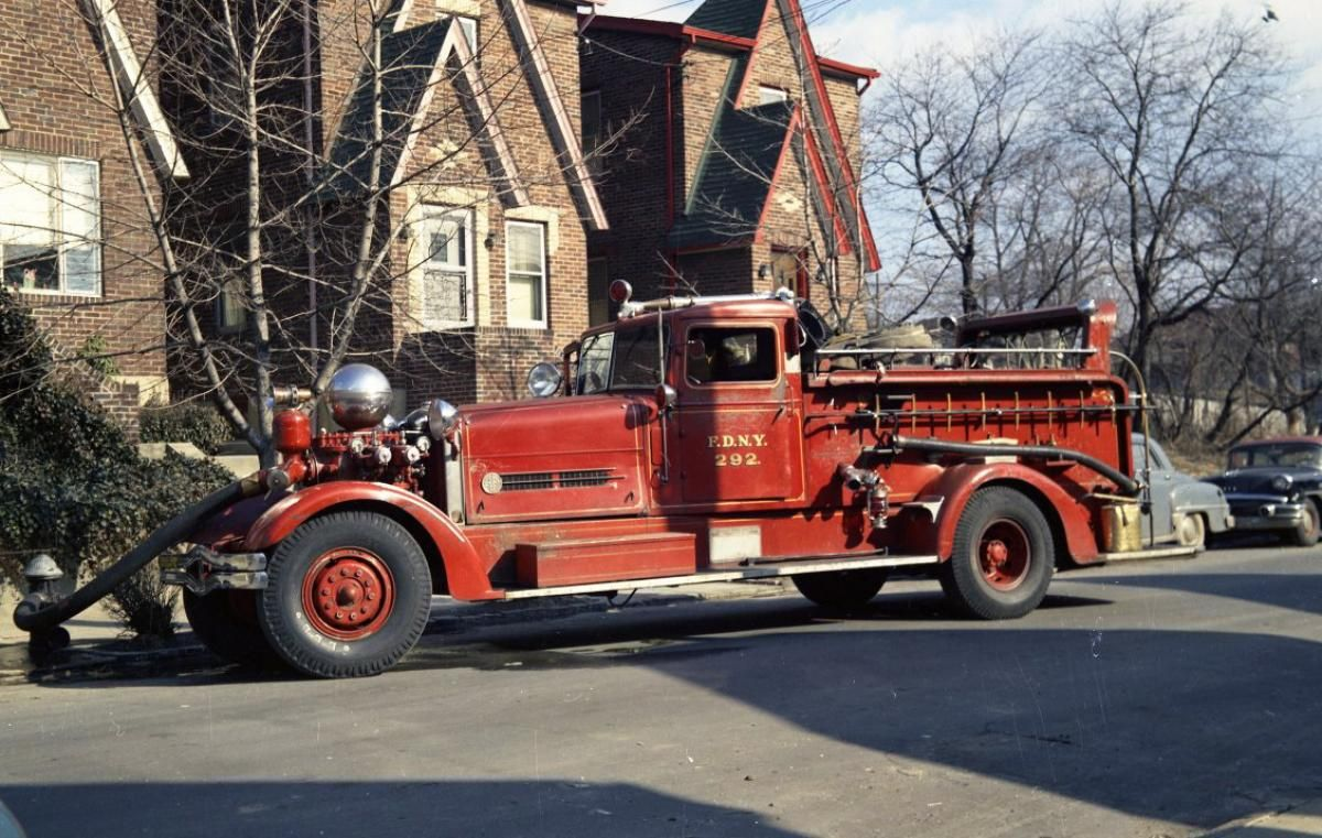 Fdny Turns 150 A Look Back At Firetrucks Through The Years Fire Trucks Fire Equipment Rescue Vehicles