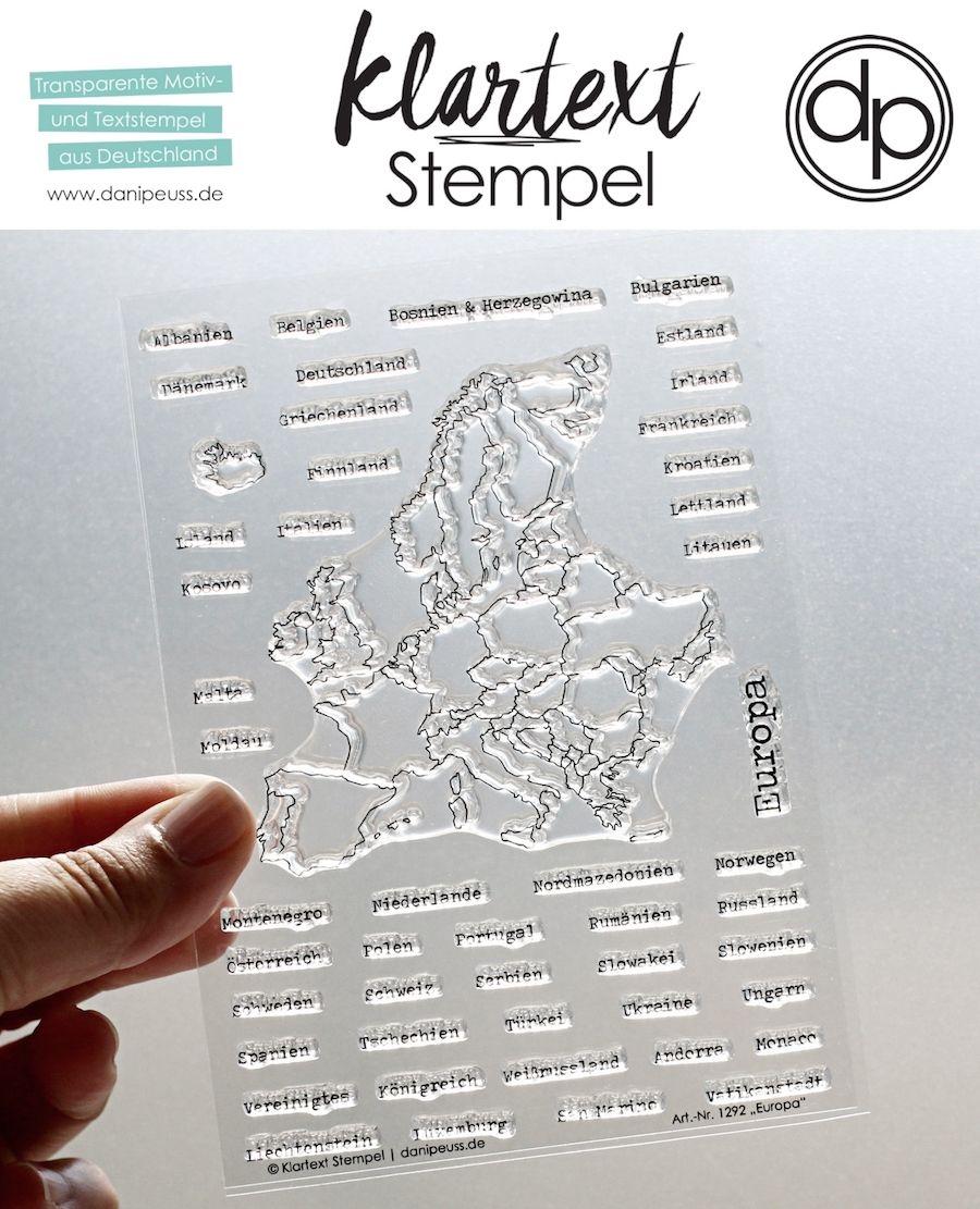 deutsche Clearstamps Klartext Stempel NEU im Shop das