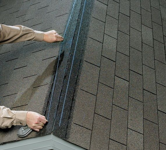 Which type of roof ridge vent is easiest to install?