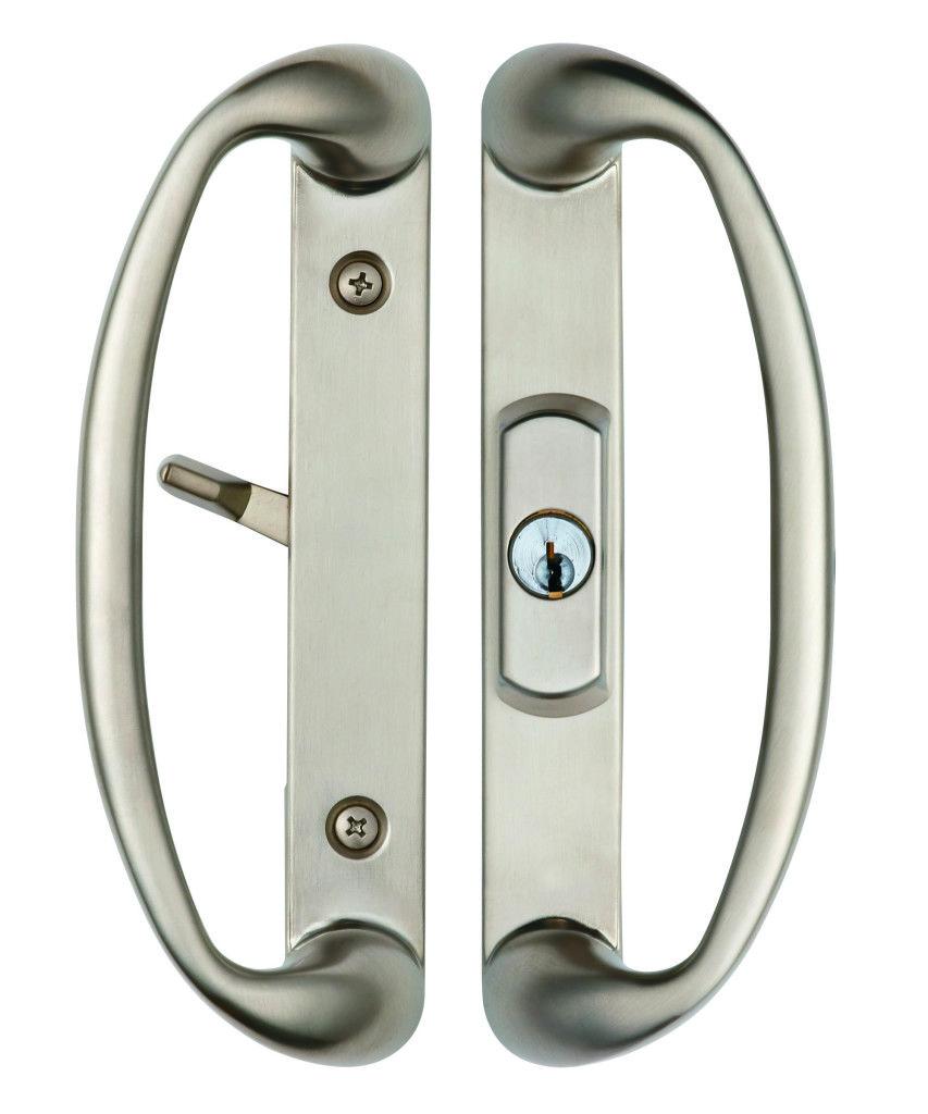 sonoma sliding door handle with key
