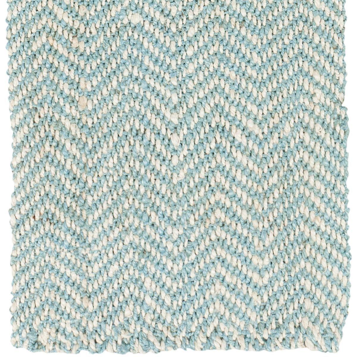 Herringbone Light Blue Rug: Herringbone Soft Jute Natural Rug In Slate Blue Or Grey