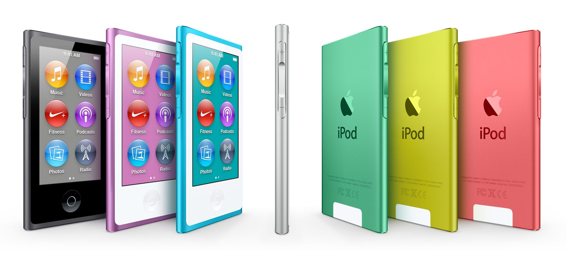 Apple Ipod Nano With Multi Touch I Just Love Blue Or Pink Or Purple Ipod Nano Apple Ipod Ipod