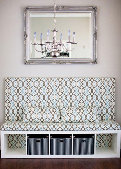 das expedit als sitzbank wir zeigen wie s gelingt x aufbewahrung und einrichtung. Black Bedroom Furniture Sets. Home Design Ideas