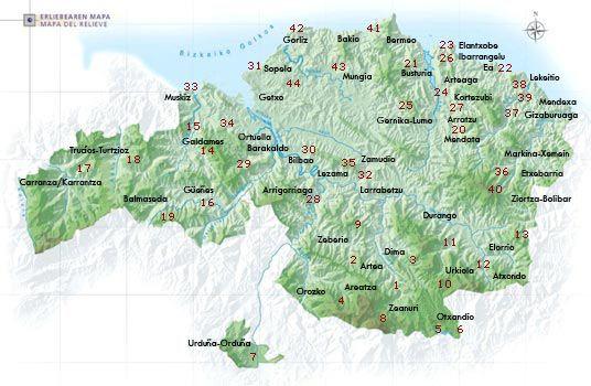 Mapa Sinclinorio Vizcaya Buscar Con Google Mapas Senderismo