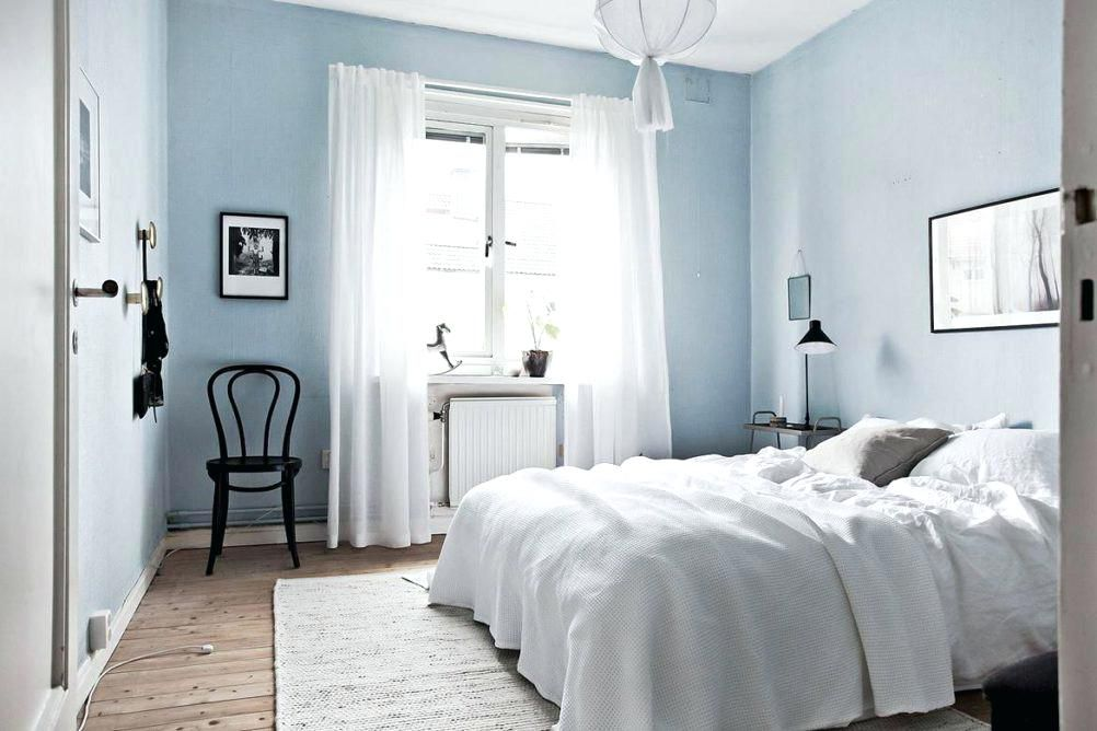 Bedroom Dark Furniture Dark Floors Light Blue Walls Google