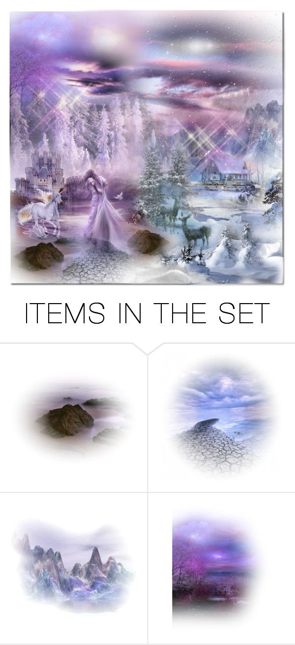 """""""Two Different Realms"""" by wanda-india-acosta on Polyvore featuring art"""